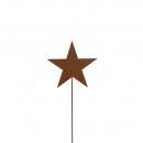 star connecteur en métal, hauteur 60cm, longueur d